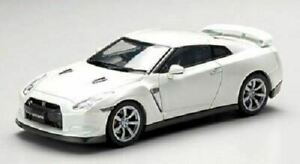 EBBRO 44037 HOT 1/43 Nissan GT-R R35 2008 White Pearl New Model Car from Japan