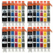 24 Printer Ink Cartridges to replace Canon PGI-570 & CLI-571 non-OEM/Compatible