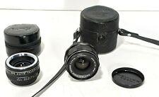 Asahi PENTAX 35mm f3.5 Super Takumar M42 Mount Prime Lens and APS 2X Converter
