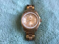 Tommy Hilfiger Ladies Rose Gold Watch With Rose Gold Metal Bracelet