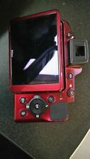 Nikon Coolpix P510 Back Cover With LCD Screen Replacement Repair Part red