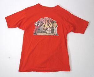 Authentic Vtg 1970's YES Band Tour t-Shirt Crosby Stills Nash Young Frampton LRG