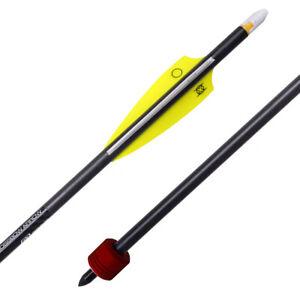 Ten Point Crossbows Universal Crossbow Discharge Arrow Featuring Alpha-Nock