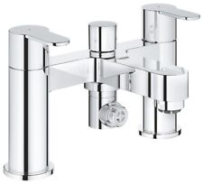 Grohe Bauedge Deck Mounted Bath Shower Mixer 2 Lever Handles 25217 000 rrp £190