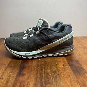 WOMENS Merrell Antora Turbulence J84814 Hiking TRAIL RUNNING Shoes GRAY SIZE 7