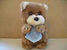 RARE VINTAGE 1984 APPLAUSE LITTLE BEGGAR PLUSH STUFFED TEDDY BEAR 7''