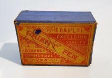 Very Old E.D&Co Ltd Excelsior Quality Orient Pen Box