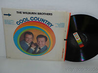 WILBURN BROTHERS Cool Country LP Decca DL 4871 mono (1967) VG+ album in SHRINK