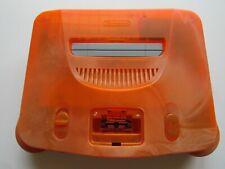 Japanese Nintendo 64 N64 Daiei Hawk's Video Game Console Atomic Orange Black OEM