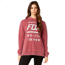 Fox Racing 2018 Womens Draftr Pullover Hoodie Dark Red Size Small Free UK Post