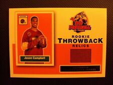 2005 Topps Rookie Throwback Relics Jason Campbell RT-JC Rookie Card