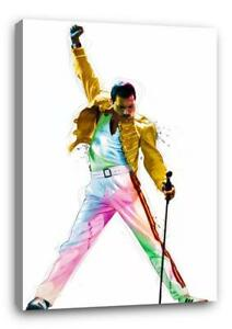 "FREDDIE MERCURY QUEEN CANVAS Wall Art Poster Print 30""x20"" CANVAS"