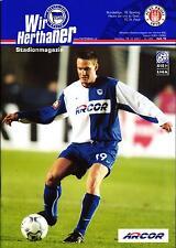 BL 2001/02 Hertha BSC - FC St. Pauli, 18.12.2001