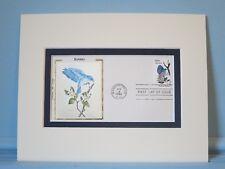 State Bird & Flower of Idaho - Mountain Bluebird & Syringa & First Day Cover
