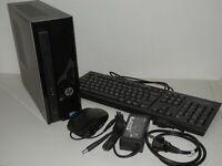 HP Slimline 260-a108ng, Intel Celeron J3060, 4GB Ram, 1TB HDD, PC Tower Set OVP