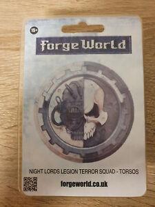 Night Lords Legion Terror Squad - Torsos für Warhammer 40.000/Horus Heresy