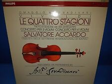 @PHILIPS DIGITAL 422 065-1 *ACCARDO* VIVALDI 4 SEASONS* TRIBUTE TO STRADIVARI*