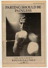 Roger Daltrey The Who Parting Should Be Painless Advert NME Cutting 1984