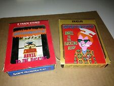 Superconductor Anvil To The Head 1 & 2 8 Track Tape Cartridge new pornographers!