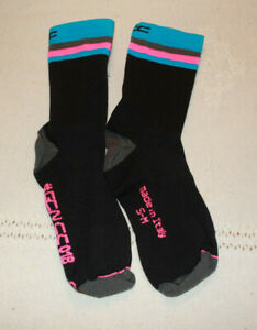 GCNCC bicycle socks/GCNCC018/Black/Made in Italy