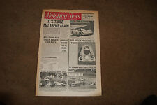 Motoring News 2 October 1969 Tour de France Jamaican & Norway Rally Can-Am