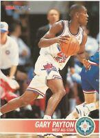 Gary Payton All Star Hoops 1994/95 - NBA Basketball Card #245