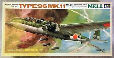 LS 1/72 Mitsubishi G3 M1 Type 96 Mk. 11 Nell Bomber *Vintage* Plastic Model Kit