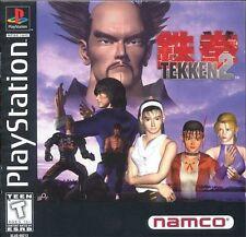 Tekken 2 - PS1 PS2 Complete Playstation Game