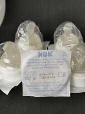 10 Nuk Kliniksauger runde Form Latex mittelfein Kirschsauger Baby Trinksauger