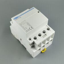 TOCT1 4P 63A 110V Coil 2NC 2NO Din rail Household ac Modular contactor