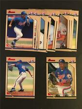 1996 Bowman Montreal Expos Team Set 17 Cards