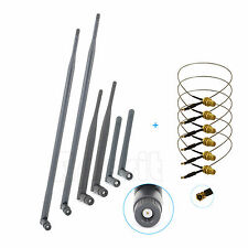 2dBi 6dBi 9dBi Dual Band 6 Antennas Mod Kit For Linksys WRT610N V1 V2 E3000 NEW