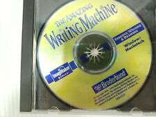 The Amazing Writing Machine:Creative Writing and Drawing CD-ROM 1995 Win/Mac