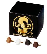 10 PAAR Supertap Stiftabsätze Pfennigabsätze Stiftflecken Stiftflecke SUPERTAP