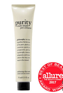 NIB Philosophy Purity Made Simple Pore Extractor Mask Full Size!