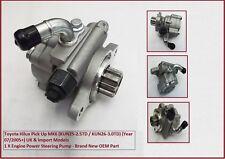 Toyota Hilux Pick Up (KUN25-2.5TD / KUN26-3.0TD) MK6 Engine Power Steering Pump