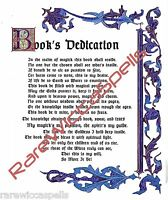Book Dedication Ritual Blessing Wicca Book of Shadows Pagan Occult Spell Ritual