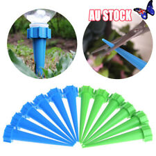 12pc Plant Flower Water Control Drip Cone Spike Waterer Bottle Irrigation System