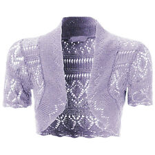 NEW KIDS GIRLS Bolero Knitted Cardigan Shrugs Top AGE: 5 -14 Years