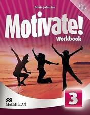 Motivate! Workbook Pack Level 3, Very Good, Johnston, Olivia Book