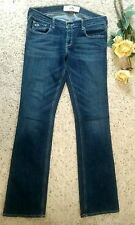 HOLLISTER WOMEN'S BLUE JEANS SOCAL STRETCH 7R W-28 L-32