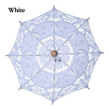 Lace Umbrella Parasol Bridal Photography Props White/Beige For Wedding Party