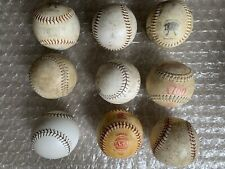"""New listing Lot Of Eighteen (18) 12"""" Used White Softballs - Good for Practice; Free Shipping"""