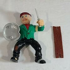 "1990 Dick Tracy Coppers & Gangsters 4.5"" Steve Tramp Figure Complete Playmates"