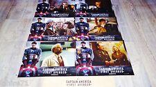 CAPTAIN AMERICA first avenger ! jeu photos cinema lobby cards comics bd marvel