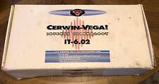 """Vintage Cerwin Vega IT-6.02 Car Component Speakers Set 6.5"""" Tweeters NIB New"""