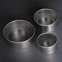 EG_ 3x Stainless Steel Round Circle Cookie Fondant Cake Gum Paste Mould Cutter G