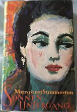 Margaret Summerton - Sonnenuntergang (Deutsche Buch-Gemeinschaft) Guter Zustand