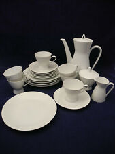 Rosenthal Kaffeeservice Form 2000 für 6 Personen Milch Zucker Kuchenteller