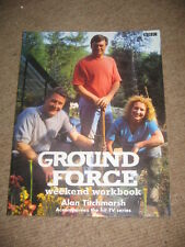 Ground Force Weekend Workbook PB gardening Alan Titchmarsh BBC TV plants